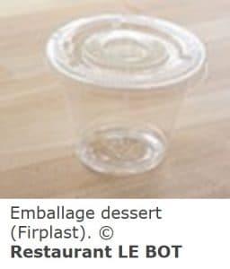 emballage dessert